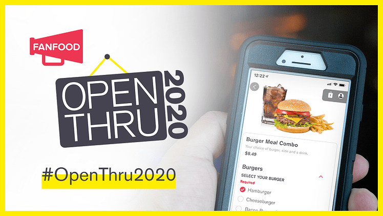 FanFood Launches #OpenThru2020 Thanksgiving Campaign to Benefit Food Service…