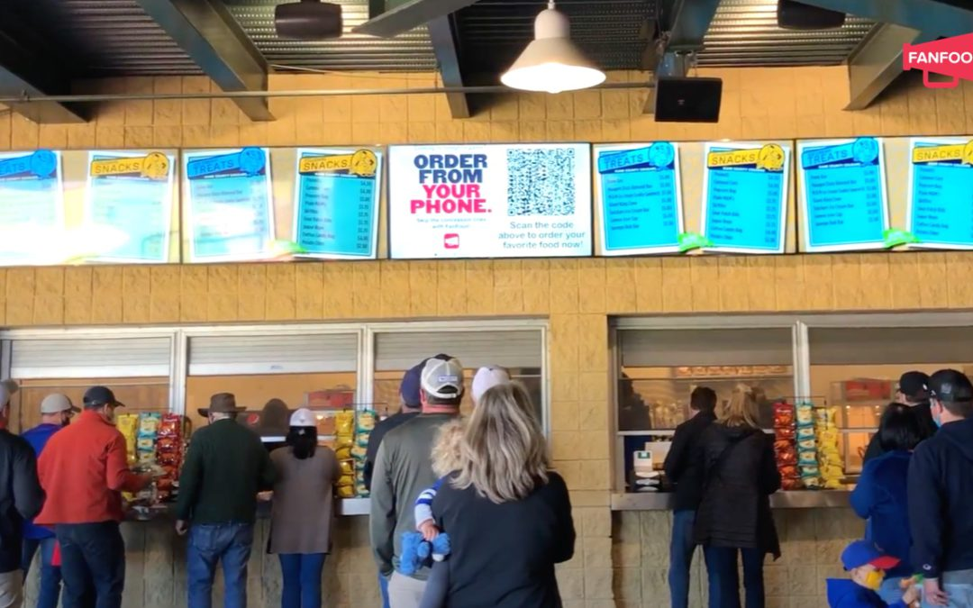 How to Effectively Upsell Concessions at Sports Games and Live Events
